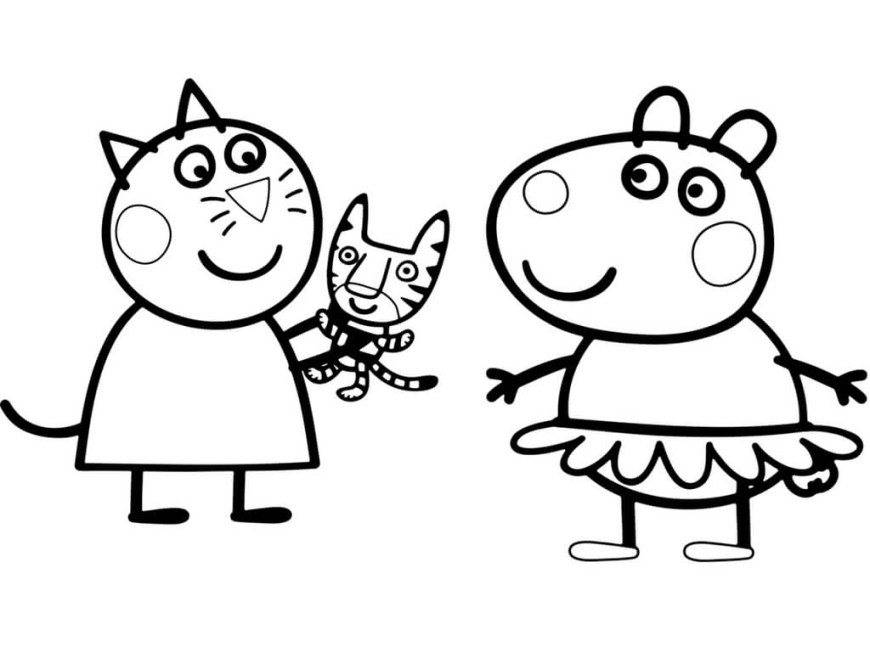 Pig Coloring Page 30 Printable Peppa Pig Coloring Pages You Wont Find Anywhere