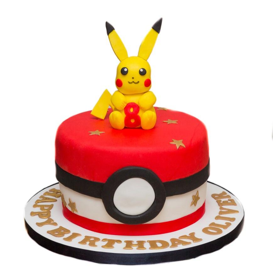 Pikachu Birthday Cake Easy Egg Less Chocolate Birthday Cake The Berkshire Bakesmith