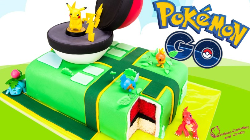 Pikachu Birthday Cake How To Make A Pokemon Go Cake Pikachu Pokeball Cake