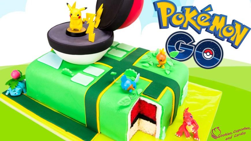 Pikachu Birthday Cake How To Make A Pokemon Go Cake Pikachu Pokeball Cake