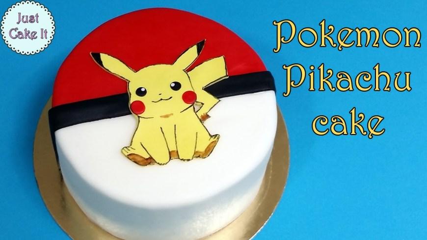 Pikachu Birthday Cake How To Make Pokemon Pikachu Cake Youtube