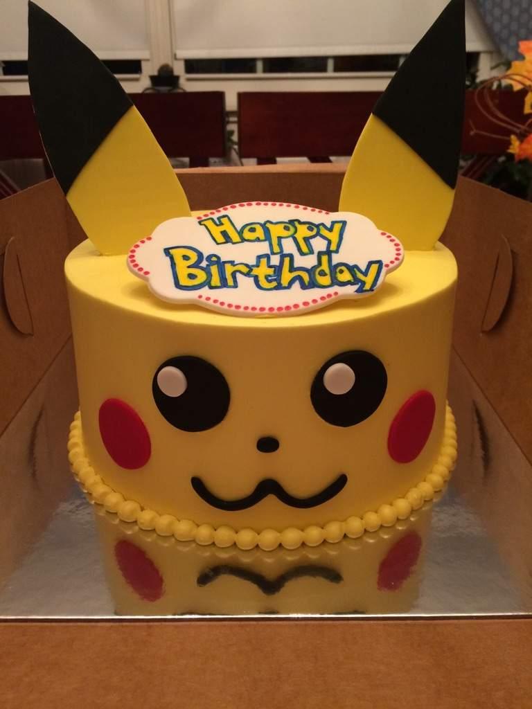 Pikachu Birthday Cake Pikachu Birthday Cake Pokmon Amino