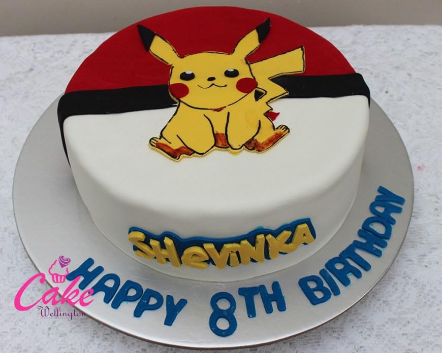 Pikachu Birthday Cake Pokemon Birthday Cake 2 Cake Wellington