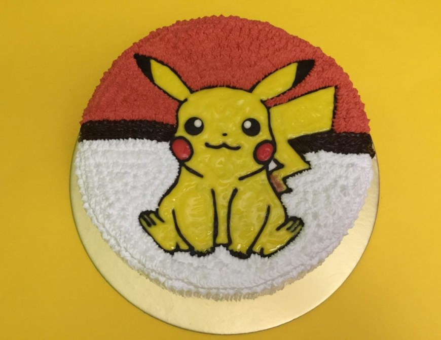 Pikachu Birthday Cake Pokemon Cakes Singapore Favourite Childhood Character