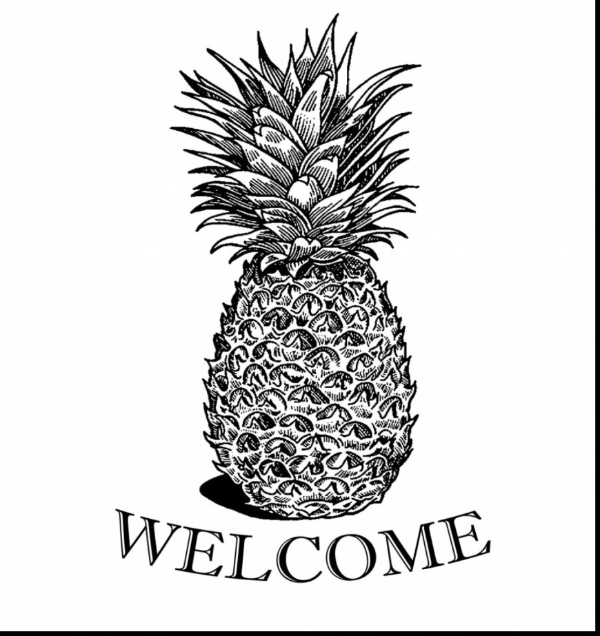 Pineapple Coloring Page Pineapple Coloring Page Finest Toddler Pages 9 Bokamosoafrica Org