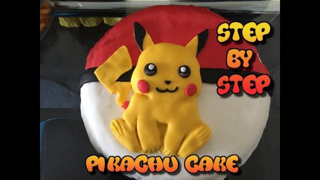 Pokemon Birthday Cake Pikachu Cake Pokemon Birthday Cake 2016 Easy To Make Morezuzi