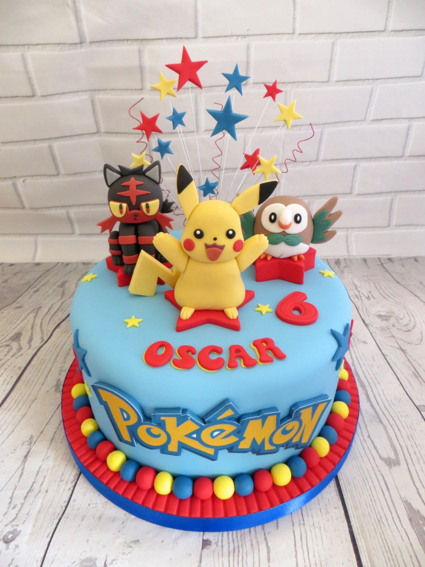 Pokemon Birthday Cake Pokemon Birthday Cake