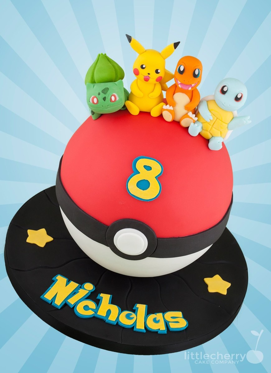 Pokemon Birthday Cake Pokemon Cake Cakes In 2019