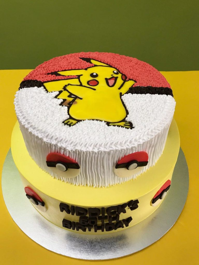 Pokemon Birthday Cake Pokemon Cakes Singapore Favourite Childhood Character