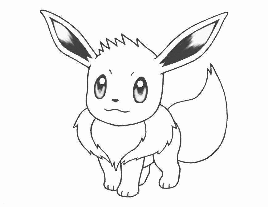 Pokemon Coloring Pages Eevee Best Pokemon Coloring Pages Eevee Evolutions Picture Of To Print