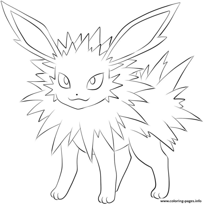 Pokemon Coloring Pages Eevee Extraordinary Inspiration Pokemon Coloring Pages Eevee Evolutions