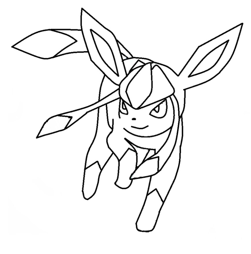 Pokemon Coloring Pages Eevee Pokemon Coloring Pages Eevee Evolutions Glaceo Educative Printable