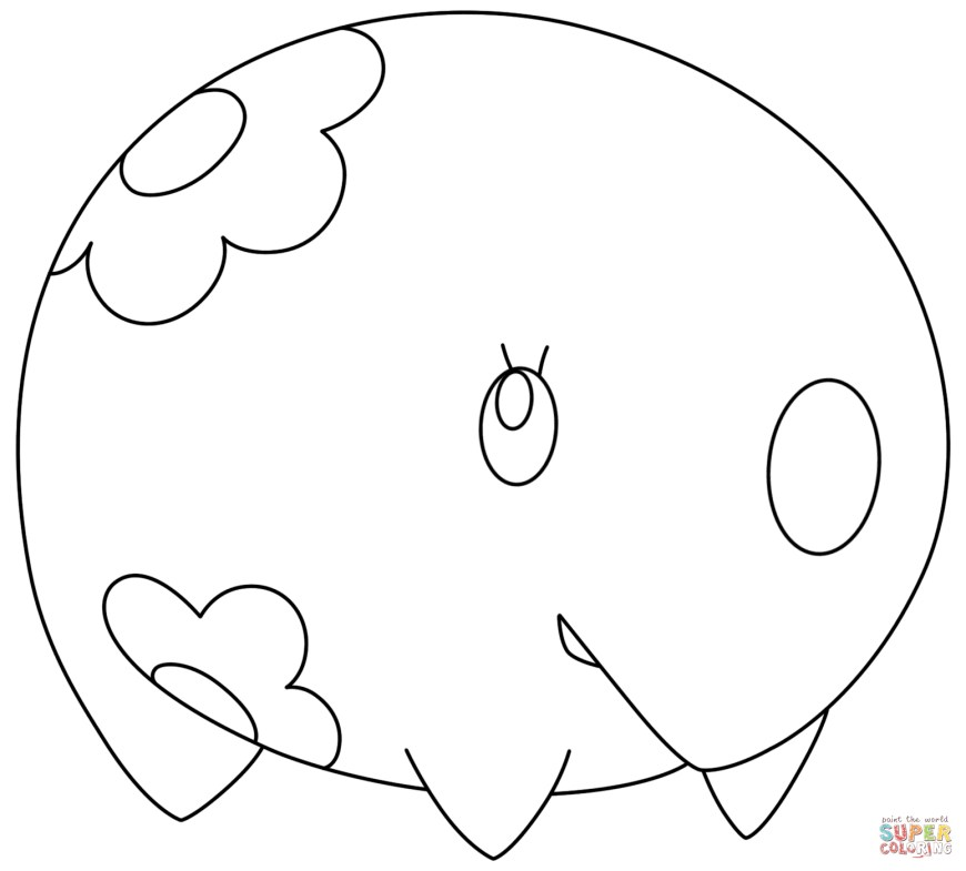 Pokemon Sun And Moon Coloring Pages Pokemon Coloring Pages Free Coloring Pages