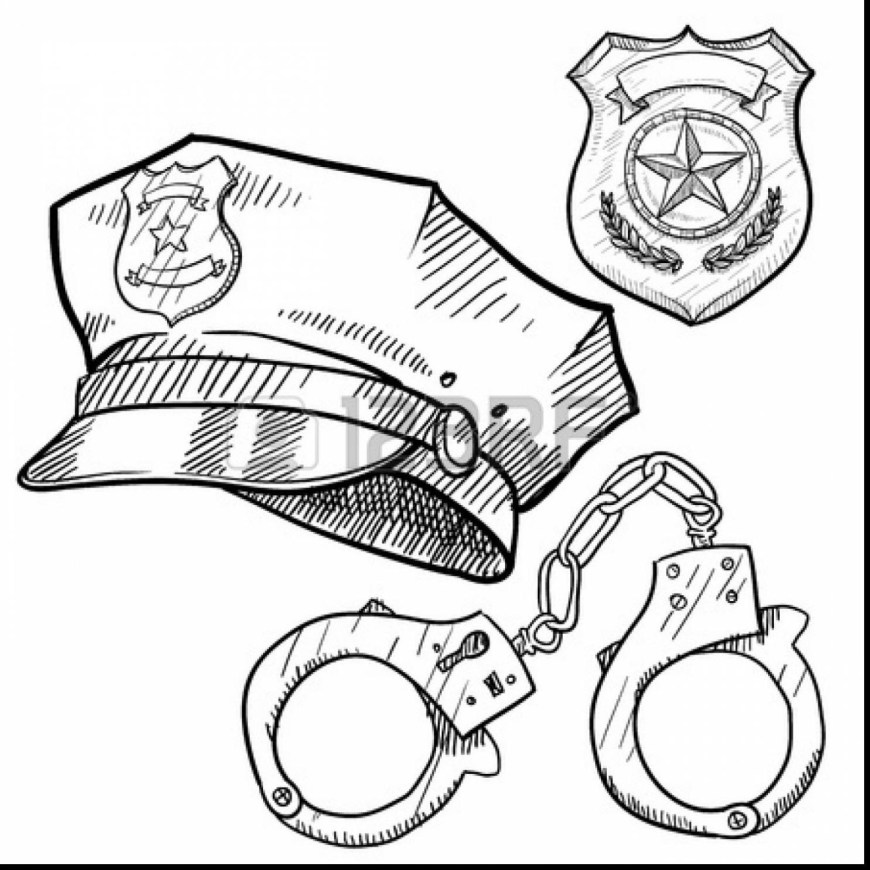 Police Officer Coloring Pages Policeman Coloring Pages 13 11667 Within Police Officer Parumi