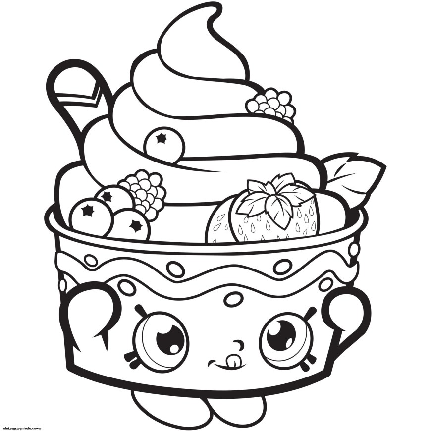 Popcorn Coloring Page Popcorn Coloring Page Stvx Popcorn Coloring Pages Refrence Shopkins