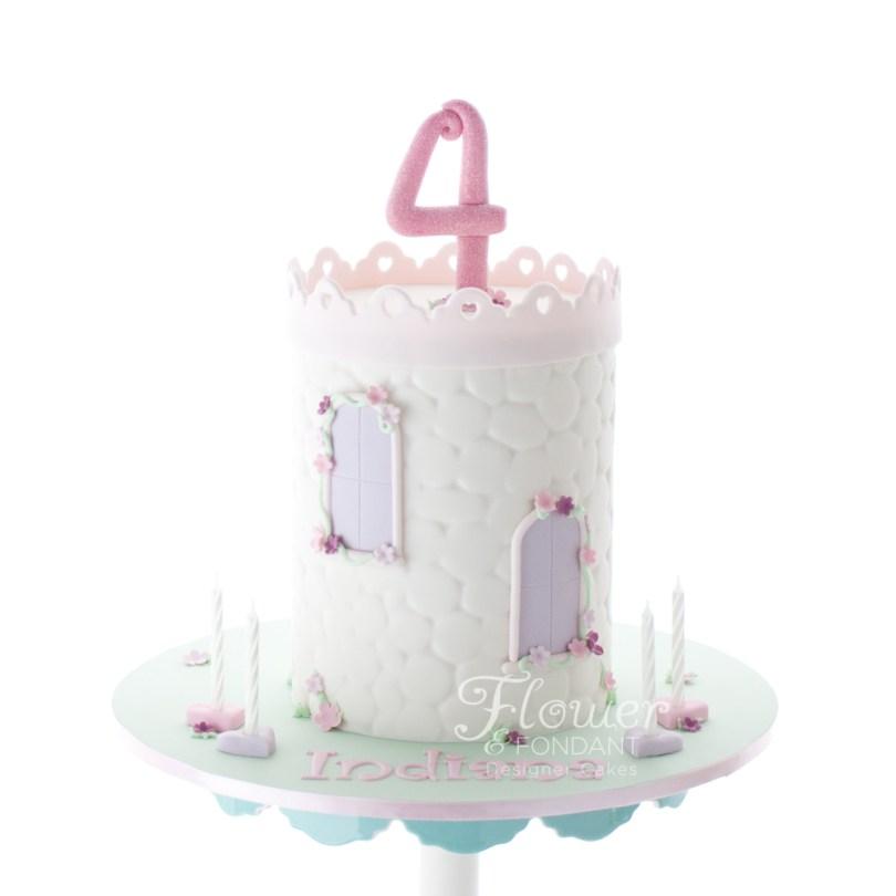 Princess Birthday Cake Princess Birthday Cake Flower Fondant