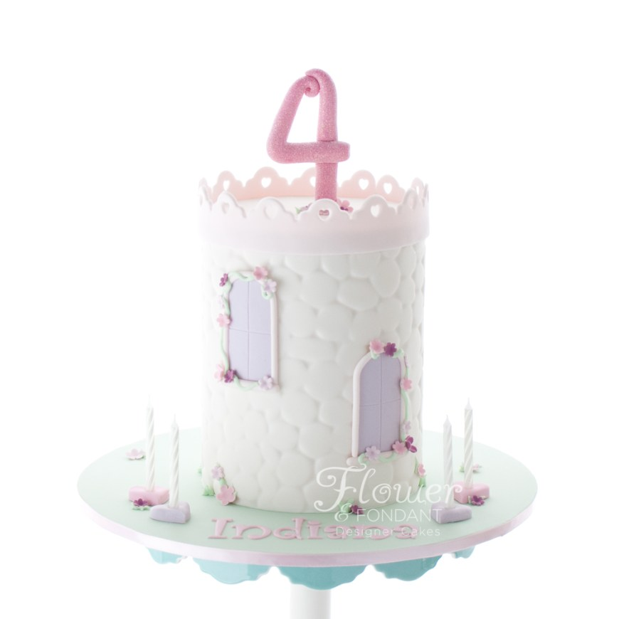 Princess Birthday Cake Princess Birthday Cake Flower Fondant