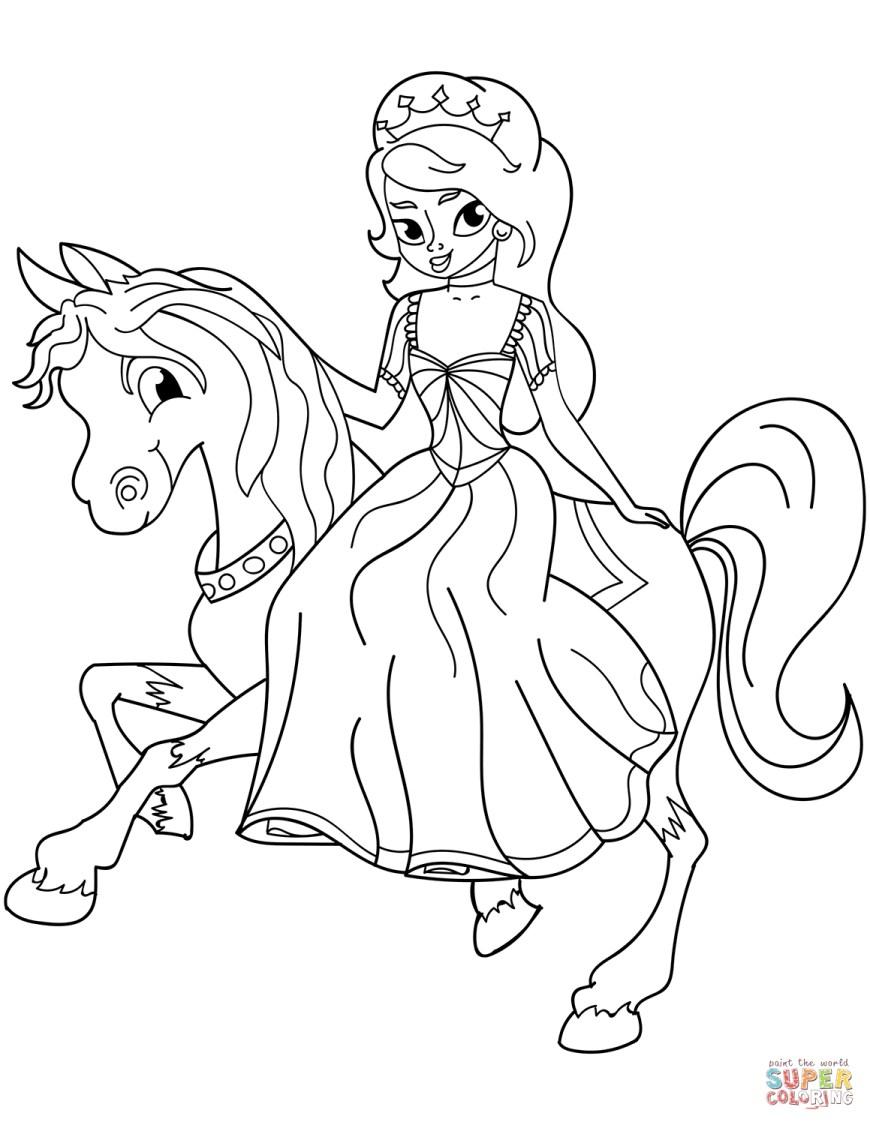 Princess Printable Coloring Pages Princess Coloring Pages Free Coloring Pages