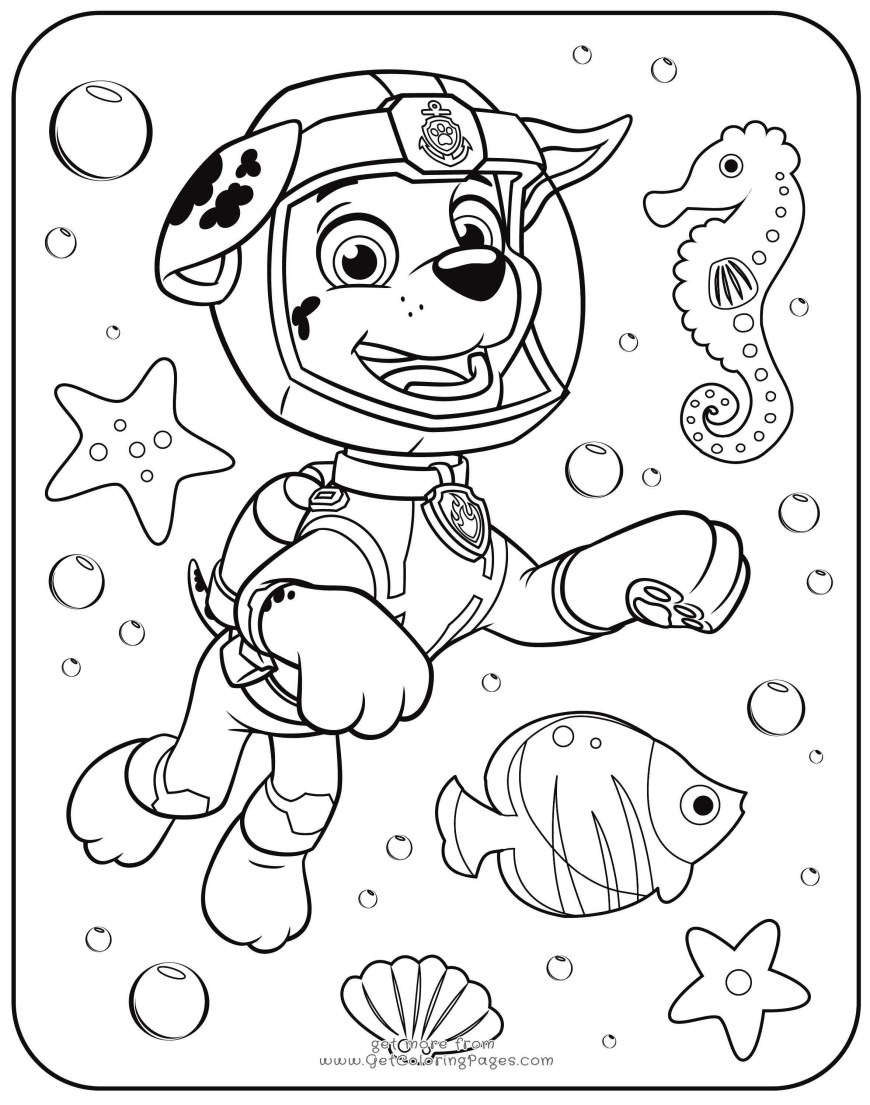 Printable Paw Patrol Coloring Pages Free Printable Paw Patrol Coloring Pages New Paw Patrol Coloring
