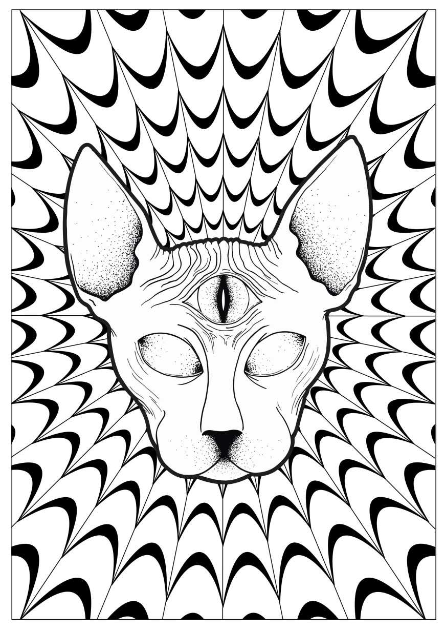 Psychedelic Coloring Pages Psychedelic Coloring Pages For Adults