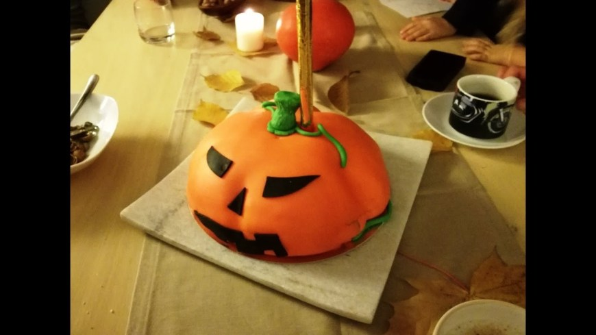 Pumpkin Birthday Cake Pumpkin Birthday Cake Youtube