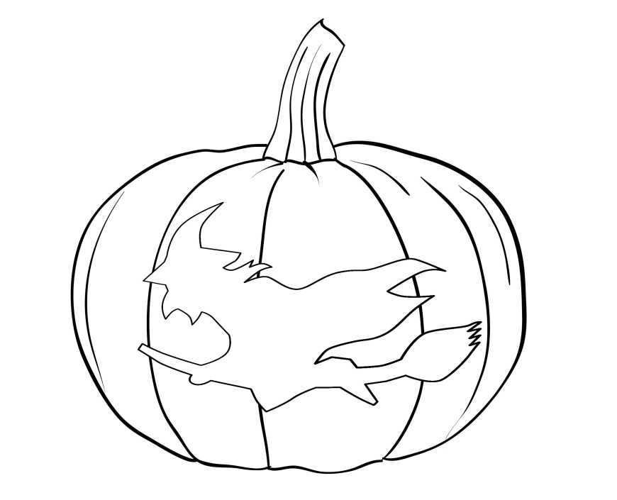 Pumpkin Coloring Pages Free Printable Pumpkin Coloring Pages For Kids