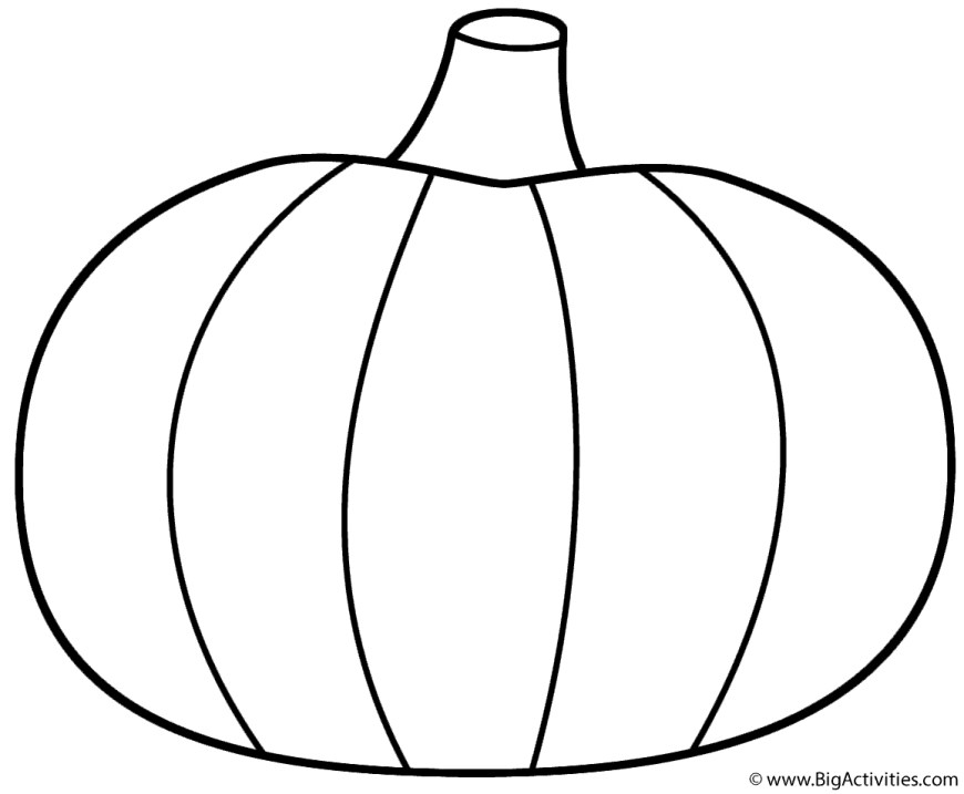Pumpkin Coloring Pages Pumpkin Coloring Page Thanksgiving