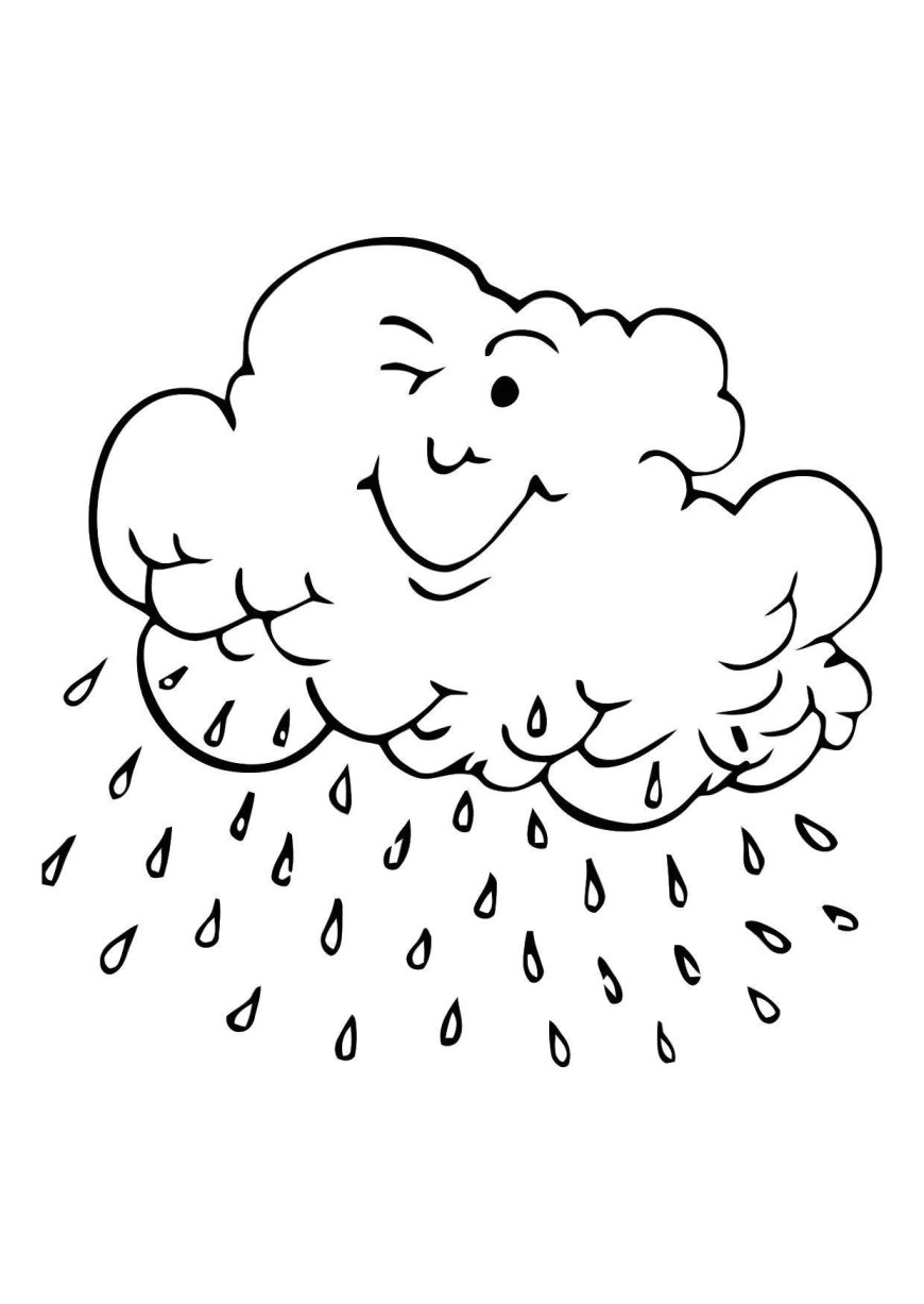 Rainy Day Coloring Pages New Rainy Day Coloring Pages Free Coloring Book