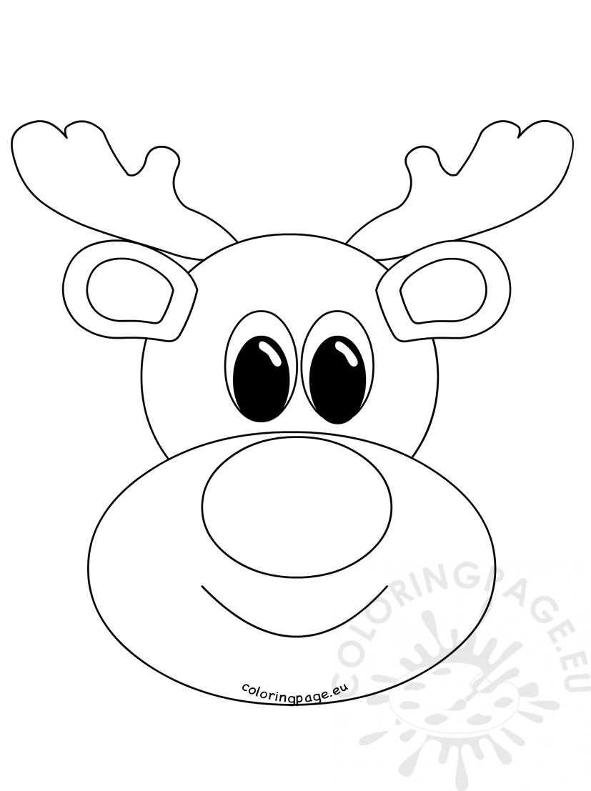 Rudolph The Red Nosed Reindeer Coloring Pages Rudolph The Red Nosed Reindeer Coloring Page 3765 And Pages Animage