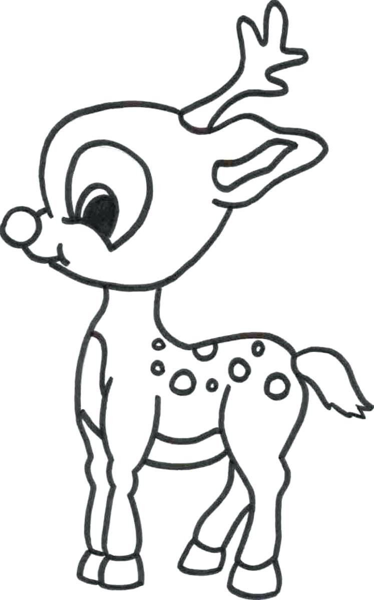 Rudolph The Red Nosed Reindeer Coloring Pages Rudolph The Red Nosed Reindeer Coloring Pages Womanmate Com Inside