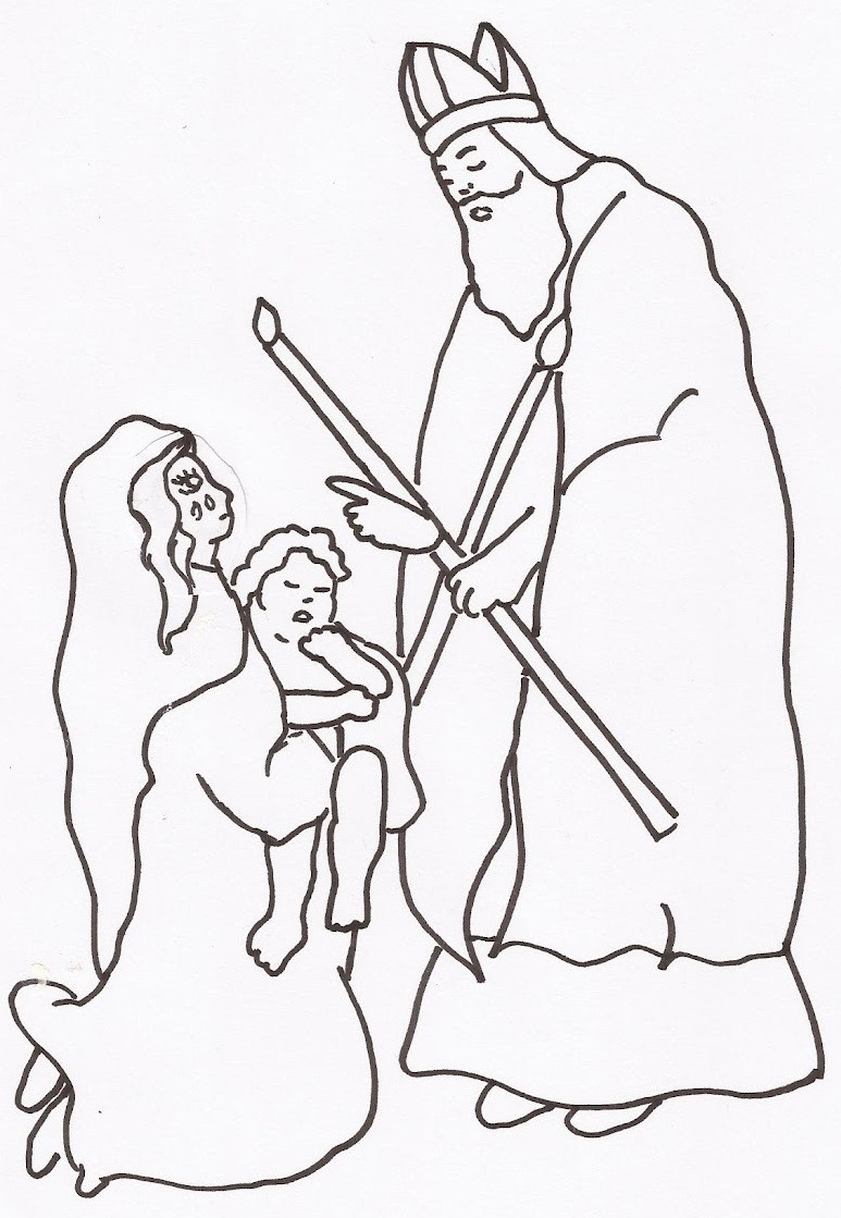 Saint Coloring Pages Beautiful Catholic Saints Coloring Sheets Viranculture