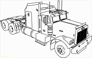 Semi Truck Coloring Pages Coloring Pages 56 Phenomenal Garbage Truck Coloring Sheets