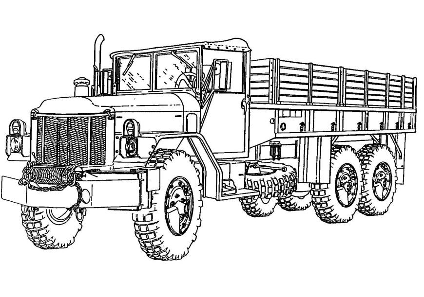 Semi Truck Coloring Pages Semi Truck Coloring Pages Coloringsuite