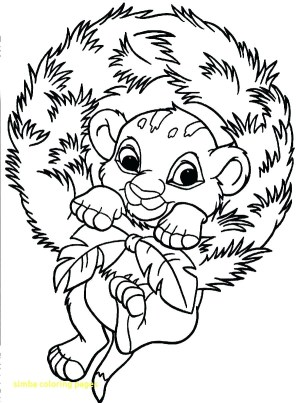 Simba Coloring Pages Simba Coloring Page Wiegraefeco