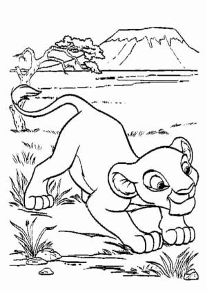 Simba Coloring Pages Simba Coloring Pages Printable