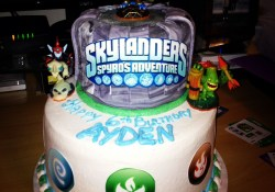 Skylander Birthday Cake Pin Rose Mary Coppage On Birthday Parties Birthday Birthday