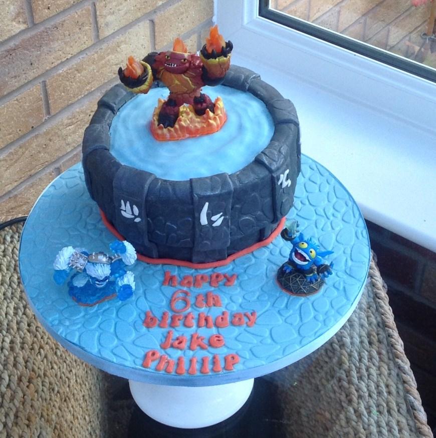 Skylander Birthday Cake Skylander Birthday Cake Perfect Cakes