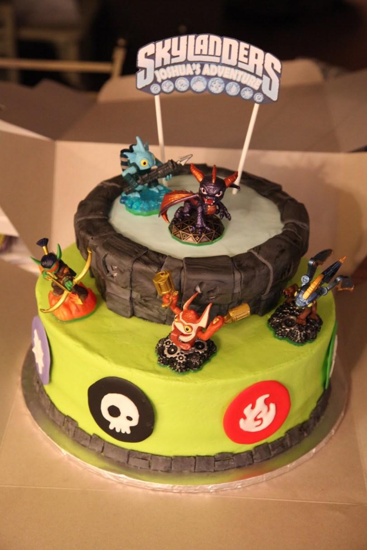 Skylander Birthday Cake Skylander Birthday Cakes