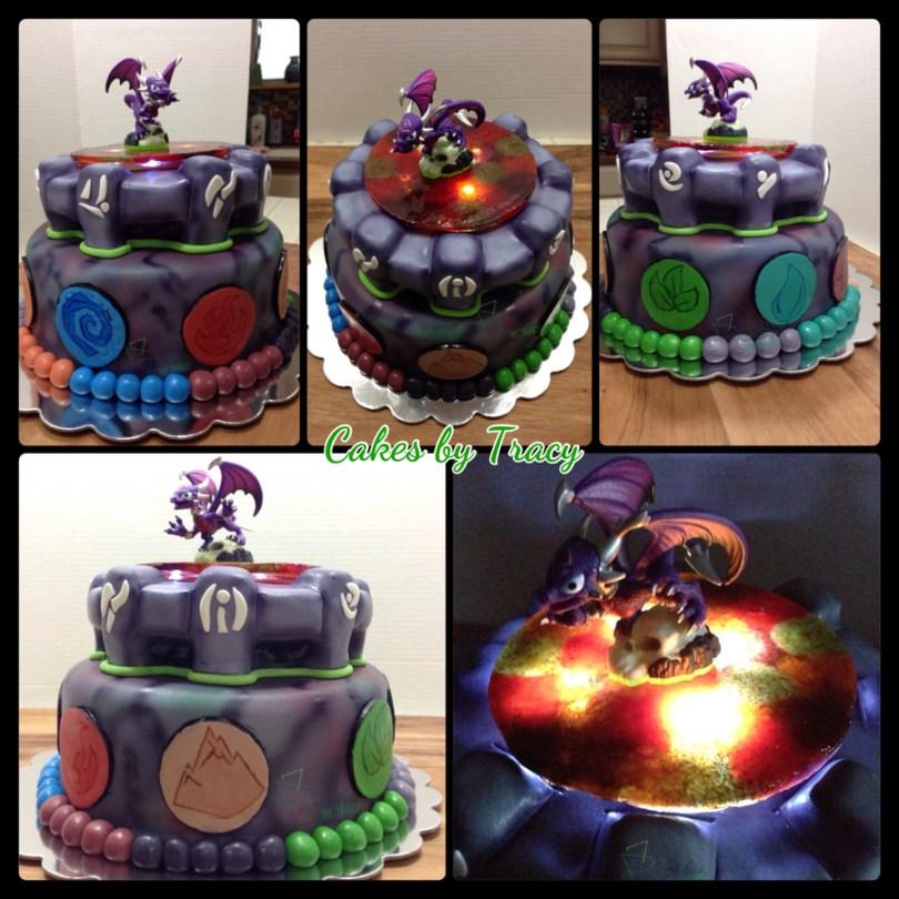 Skylander Birthday Cake Skylanders Birthday Cake Cakecentral