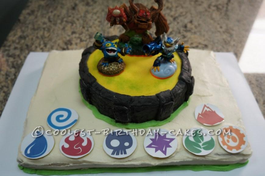 Skylander Birthday Cake Skylanders Birthday Cake Portal Of Power