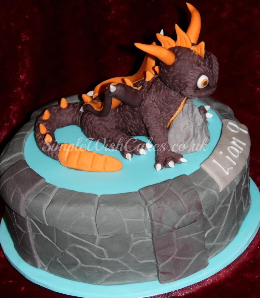 Skylander Birthday Cake Skylanders Birthday Cake Stef And Carla Green Flickr