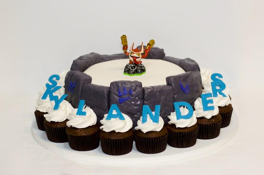 Skylander Birthday Cake Skylanders Birthday Cakes