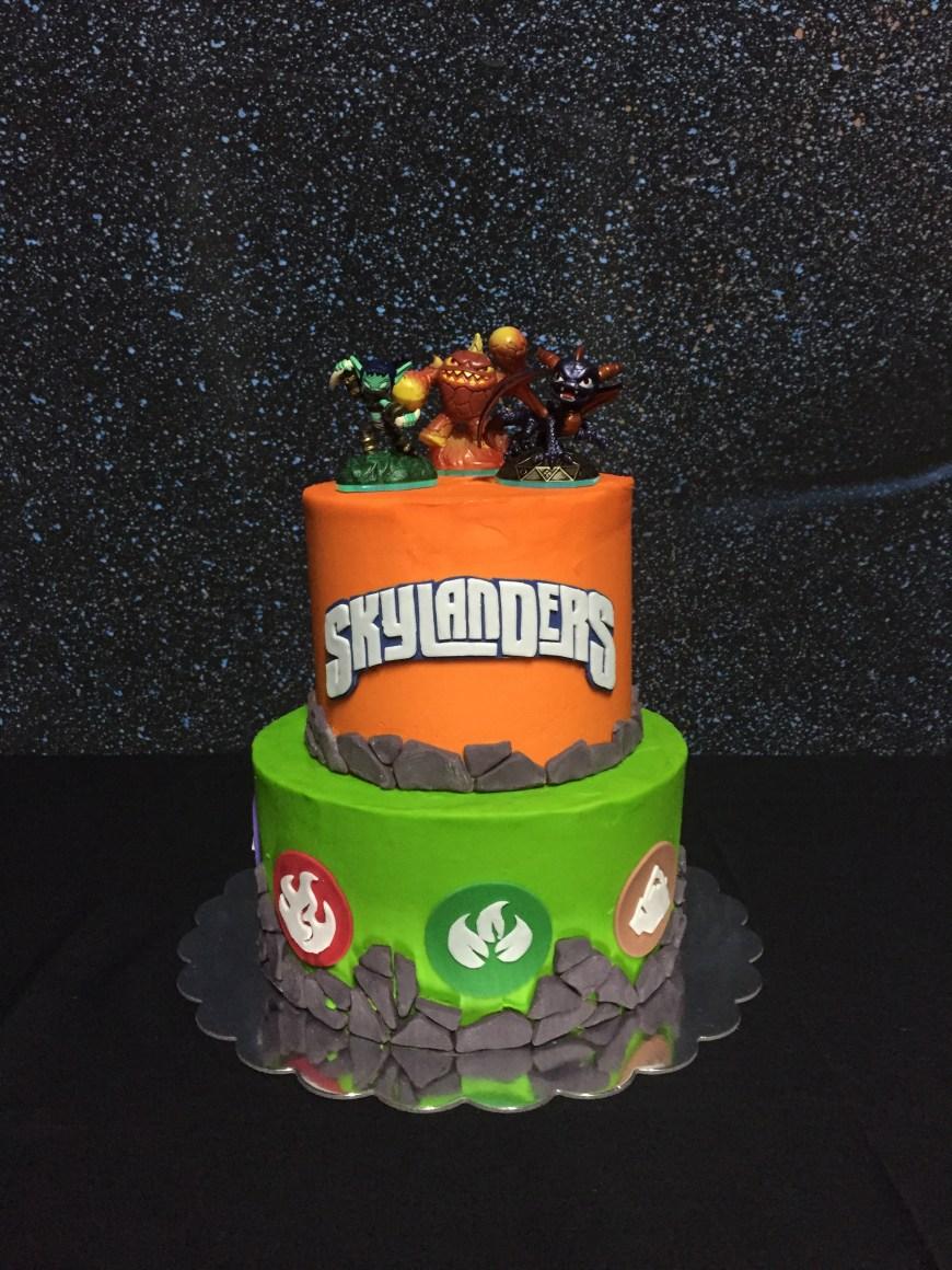 Skylander Birthday Cake Skylanders Birthday Party Sweets Sue