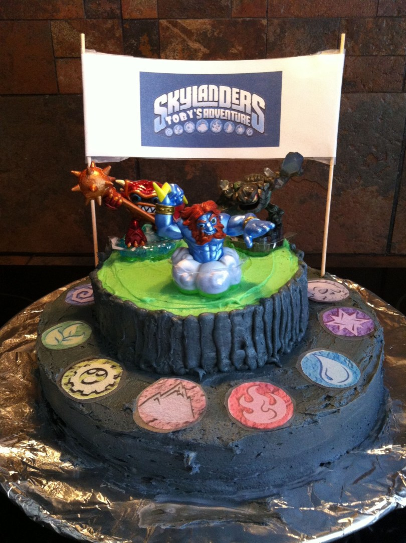 Skylander Birthday Cake Skylanders Cake Complete Instructions On Making Your Own1 Birthday