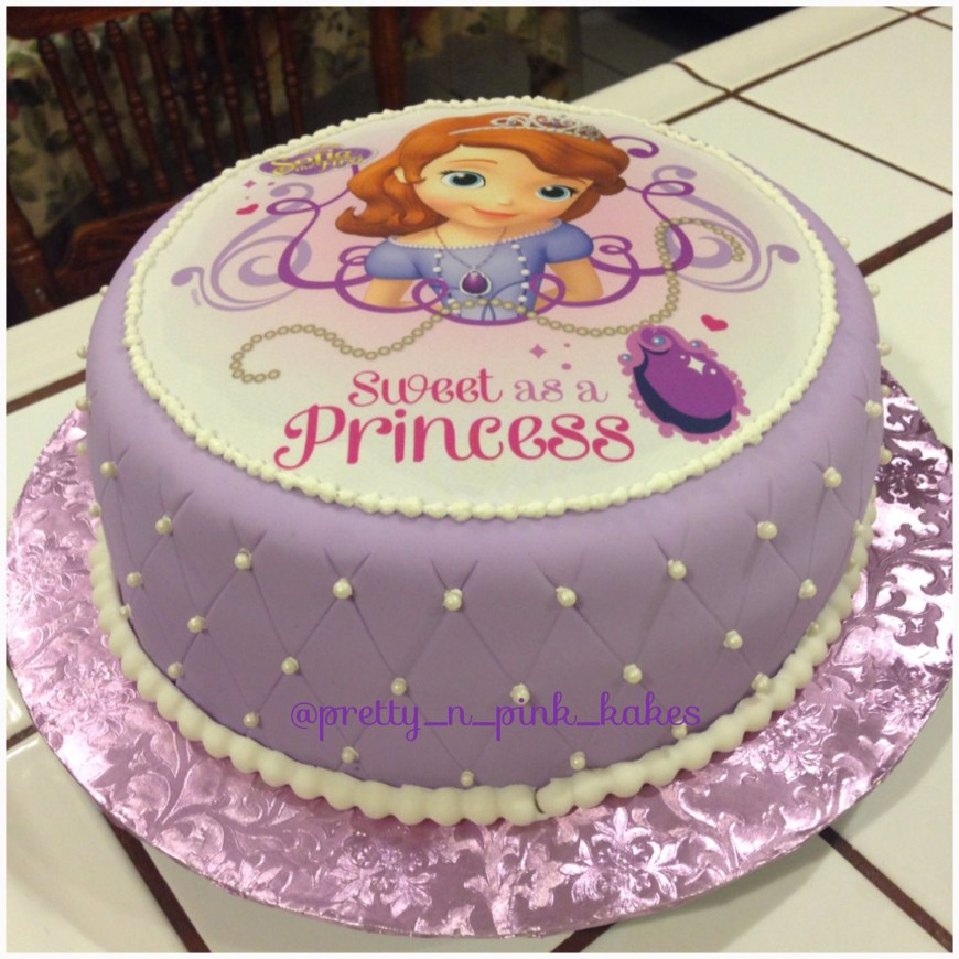 Sofia The First Birthday Cakes Sofia The First Birthday Cake Kids Pinterest Sofia The First