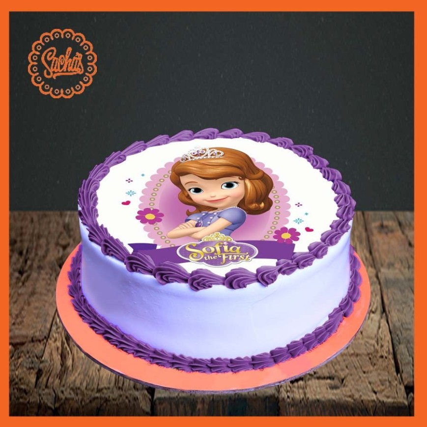 Sofia The First Birthday Cakes Sofia The First Birthday Cakes Abc Birthday Cakes