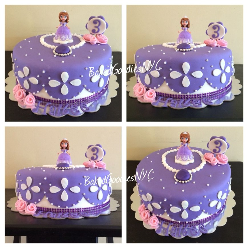 Sofia The First Birthday Cakes Sofia The First Cake Cakes Pinterest Sofia The First Birthday