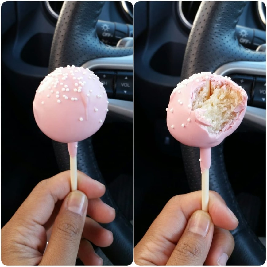 Starbucks Birthday Cake Pop Birthday Cake Pop Yelp