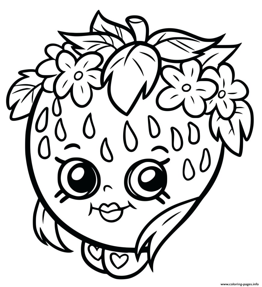 Strawberry Coloring Page Coloring Sheets Detail Strawberry Picture Shortcake Page Free