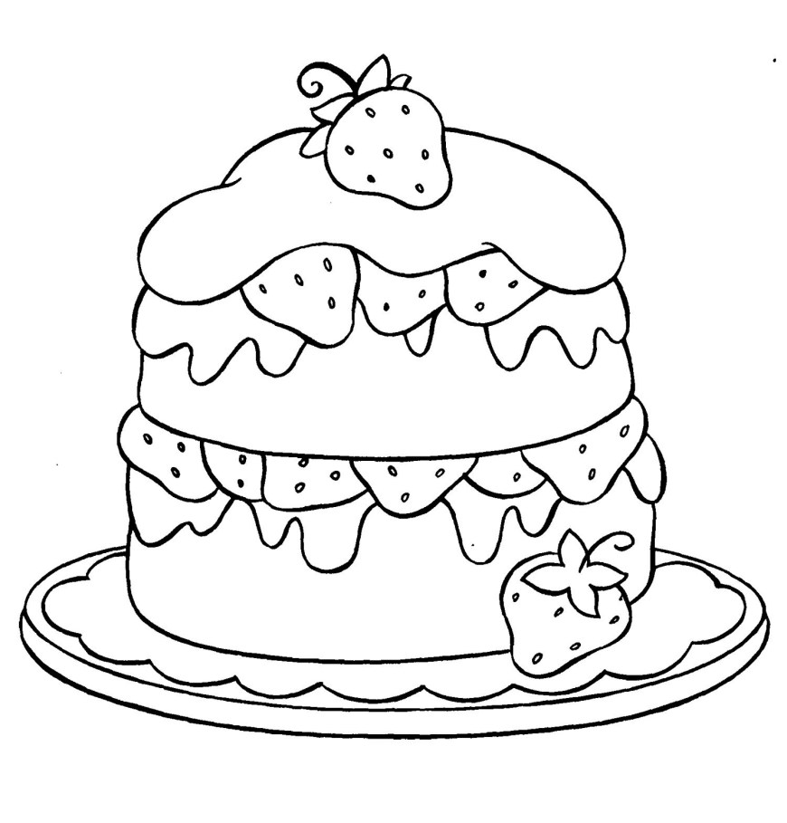 Strawberry Coloring Page Strawberry Coloring Pages Best Coloring Pages For Kids